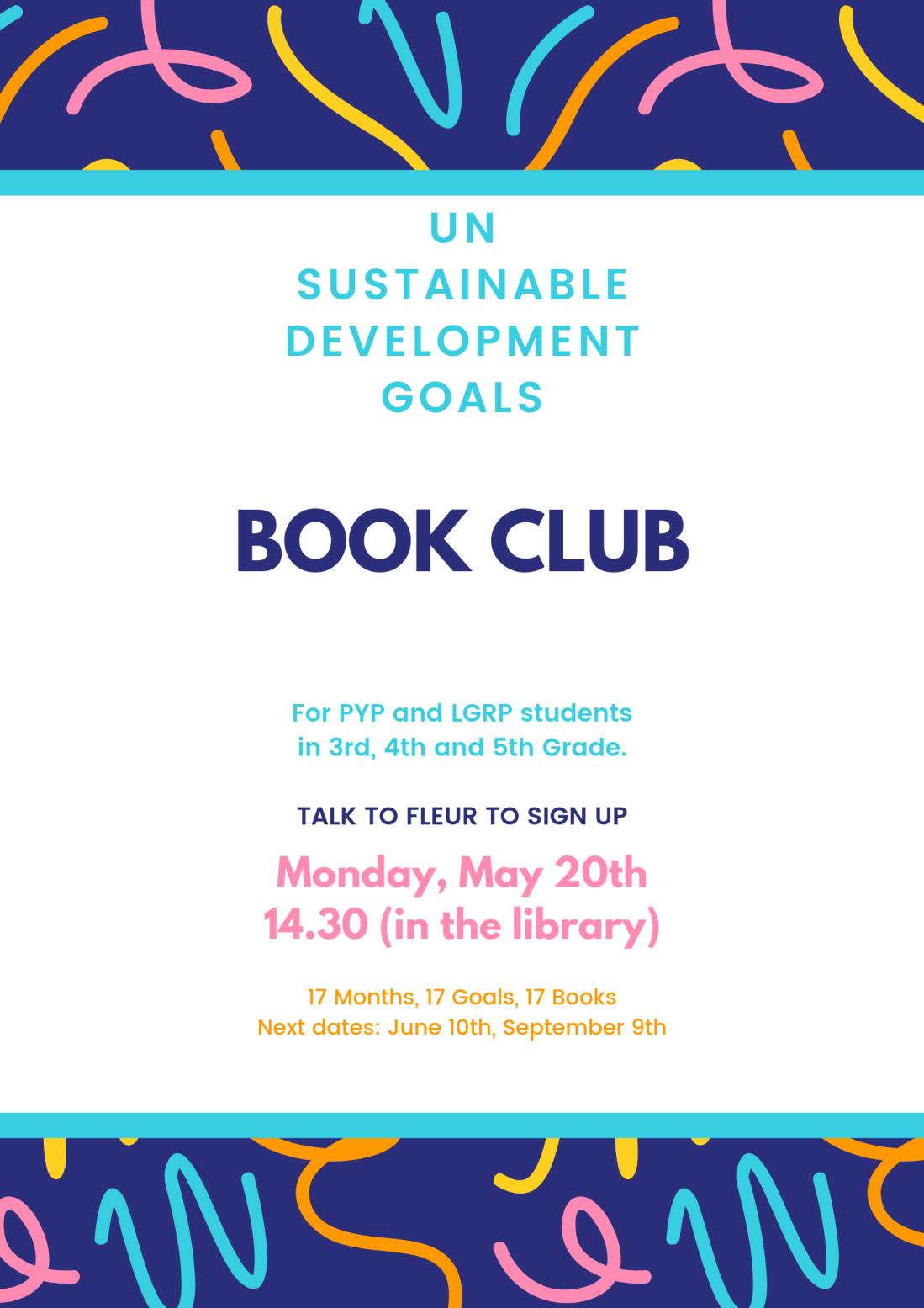 Sustainable development Goals isgr Book club