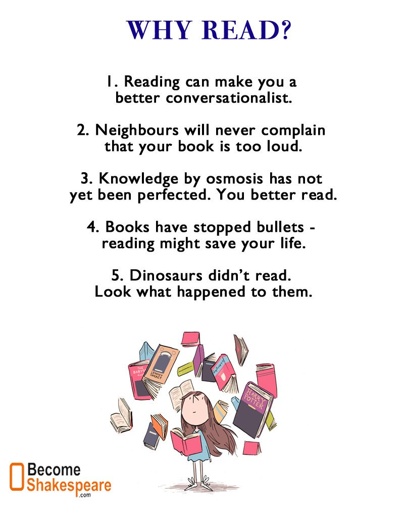 Why Read (funny)