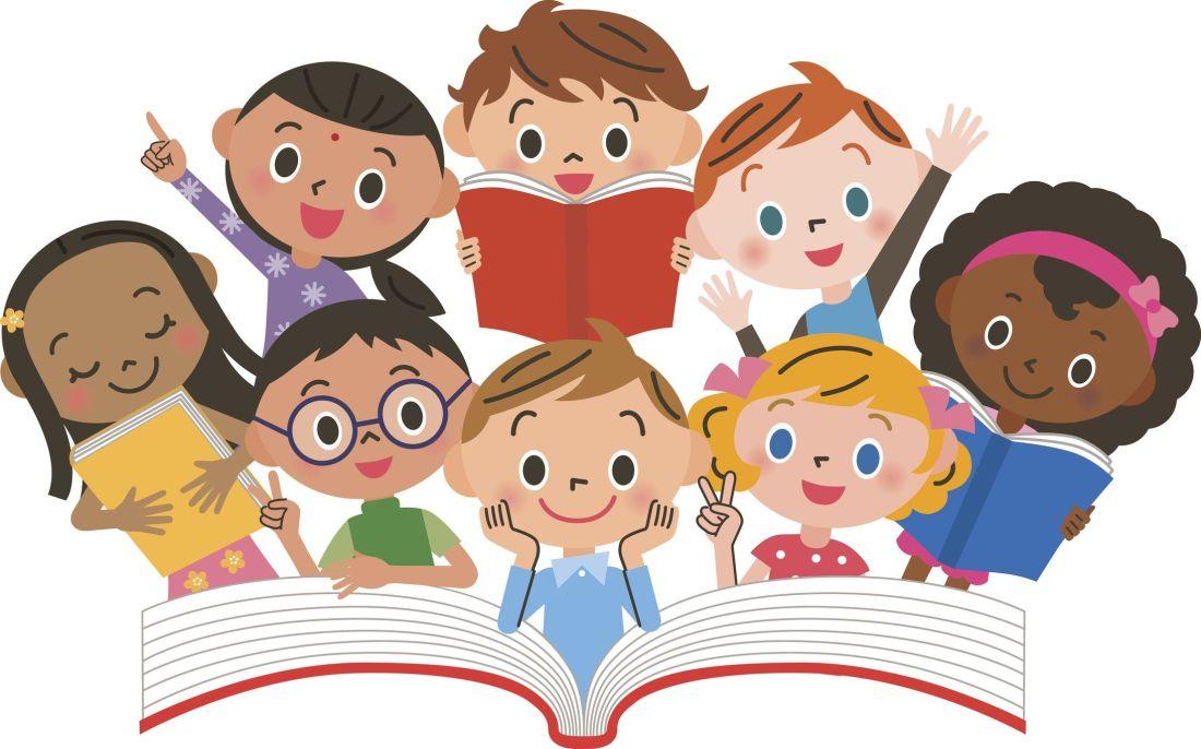 Diverse Kids Reading