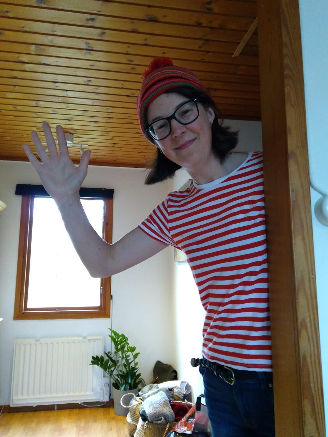 Sophie as Wally 2